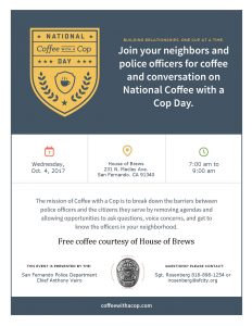 National Coffee with Cop flyer (10-4-17)