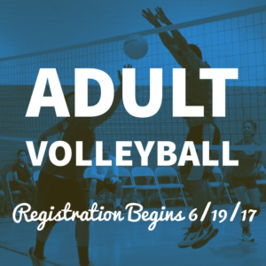 Adult Volleyball Registration Begins