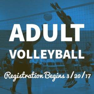 POST PIC Adult Volleyball Registration Begins... (FB & IG)