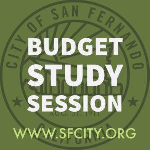 Budget Study Sessions