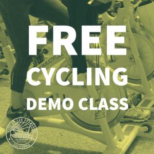 FREE CYCLING DEMO CLASS