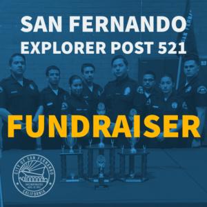 San Fernando Police Explorers Fundraiser