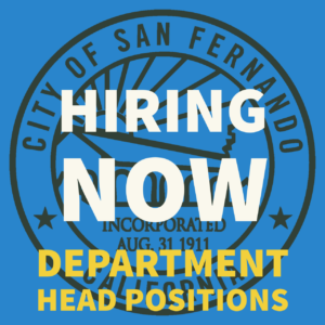 POST PIC Hiring Now (Dept Heads)