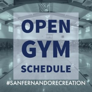 Open Gym Schedule
