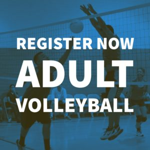 Register Now Adult Volleyball
