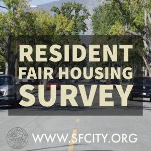 Resident Fair Housing Survey