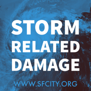 STORM RELATED DAMAGE