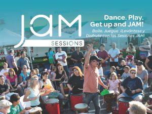 JAM SESSION DRUM CIRCLE