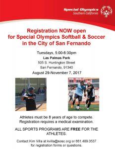 Special Olympics Programs