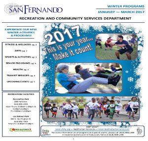 Winter Programming Brochure