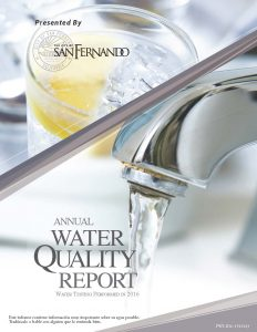 Water Quality Report (2016)