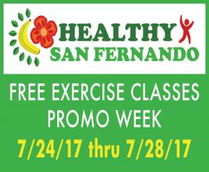 Healthy SF Promo Week