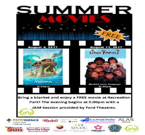 Sizzlin Summer Movie Nights