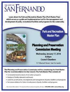 Park and Recreation Park Master Plan Review