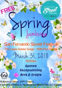 Spring Jamboree Flyer 2018