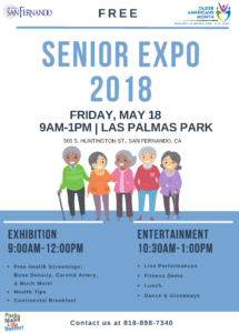 Senior expo 2018 flyer