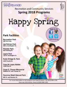 Spring Brochure 2018