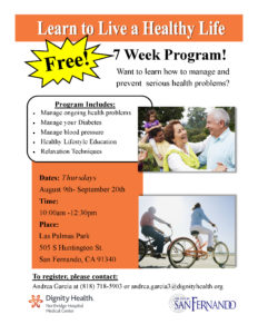 Learn to Live a Healthy Life: Free 7 week program
