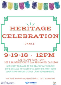 Heritage Celebration Dance