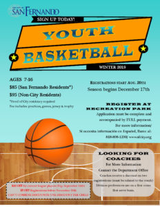 Youth Basketball Winter League