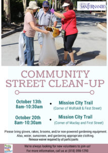 Street Clean-up October 2018