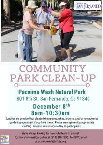 Community Park Clean-up