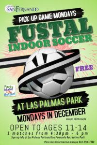 Futsal Mondays poster