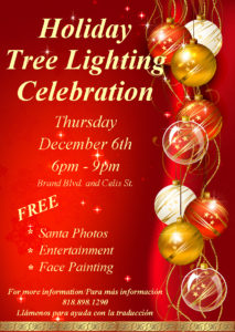Tree Lighting Flyer 2018