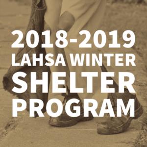 LA HOMELESS SERVICES AUTHORITY WINTER SHELTER PROGRAM