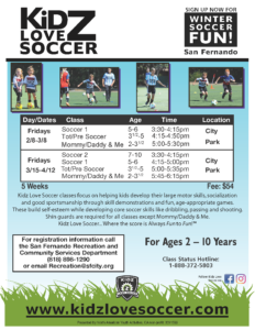Kids Love Soccer (Jan 2019)