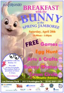Spring Jamboree Flyer