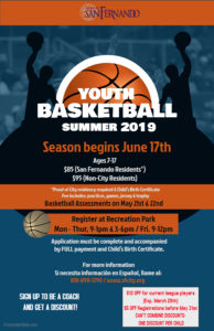 Youth Basketball (Summer 2019)