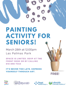 Painting Activity for Seniors