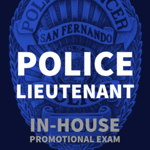 POST PIC Hiring Now (Police Lieutenant)