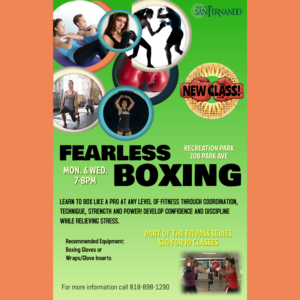 FEARLESS BOXING CLASS