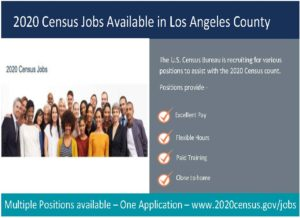 2020 CENSUS JOBS AVAILABLE NOW