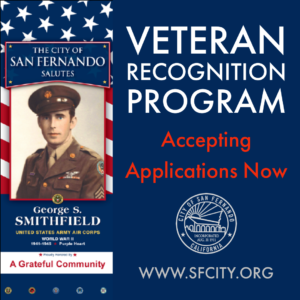 Veteran Recognition Banner