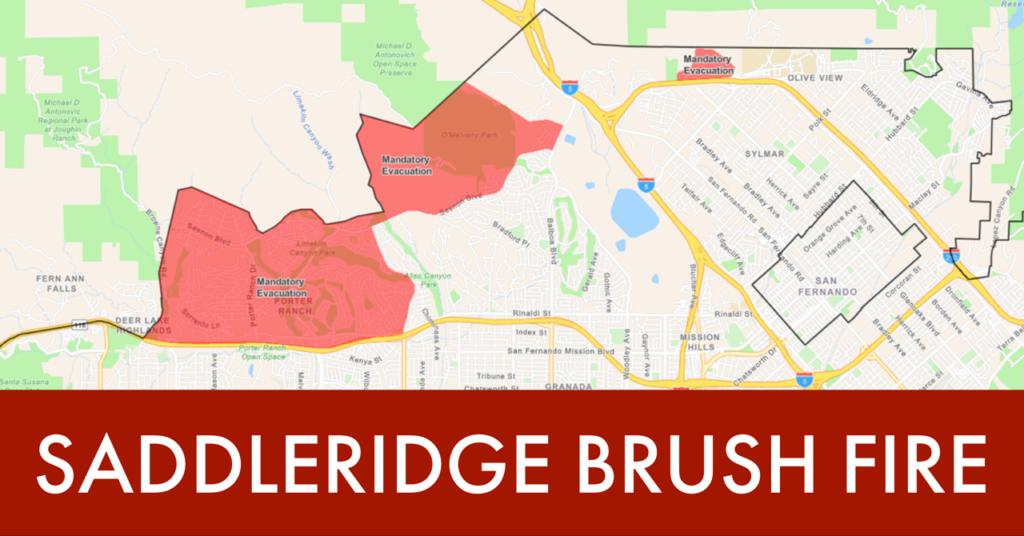 Saddleridge Brush Fire