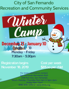 Winter Camp Flyer 2019