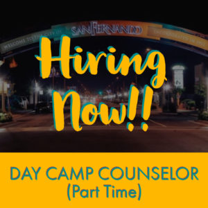 POST PIC Hiring Now (Day Camp Counselor) IG