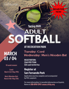 Adult Softball Spring League