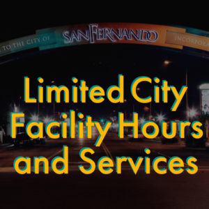 Limited City Facility Hours IG