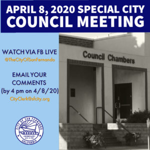 City Council Meeting 4-8-20