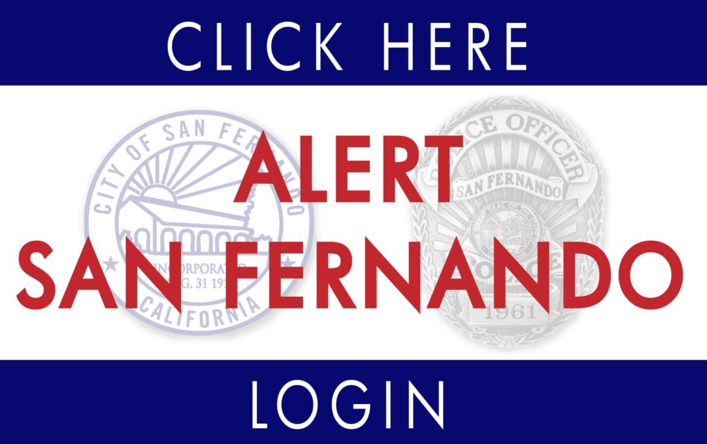 Alert San Fernando Login
