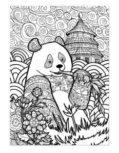 Coloring Sheets - Panda