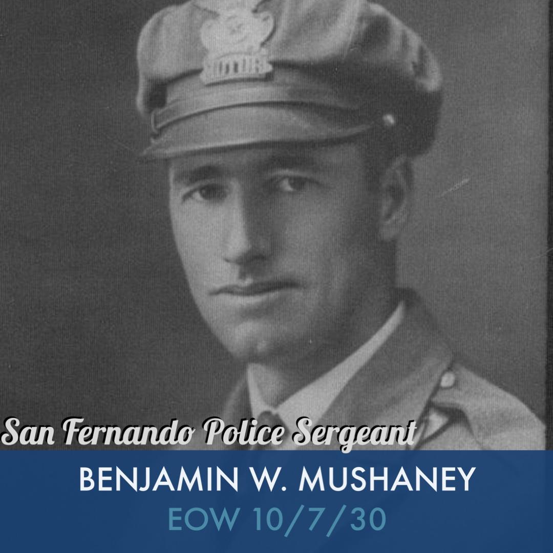 Mushaney, Benjamin W NAME