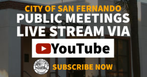 Public Meetings Live Stream Via YouTube