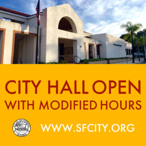 City Hall Modified Hours