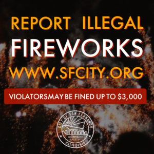 Report Illegal Fireworks IG