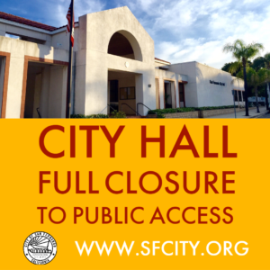 City Hall Full Closure to Public Access